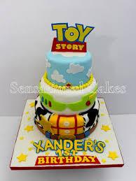 sensational cakes toy story inspired 3 tier cake design