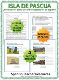 easter island reading activities and worksheets by woodward education
