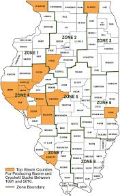 Illinois Map With Counties by Best Big Buck States For 2014 Illinois Game U0026 Fish