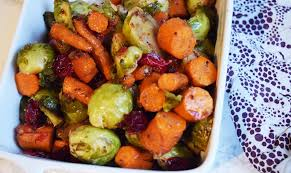 balsamic maple rosemary roasted veggies