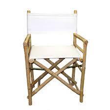 Folding Directors Chair Handmade Set Of 2 Bamboo Director U0027s Chairs Vietnam Free
