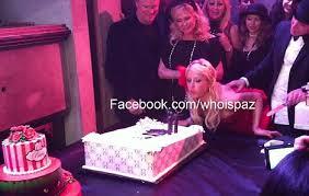 paris hilton u0027s 2000 birthday cake is stolen by party crasher
