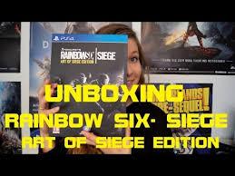 siege swiss unboxing rainbow six siege of siege edition swiss german
