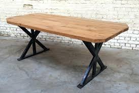plateau bureau sur mesure plateau de table en bois sur mesure avec plateau bois bureau 100