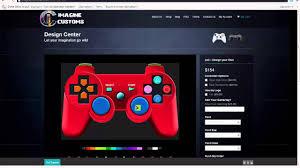 selber designen xbox ps3 controller selber designen