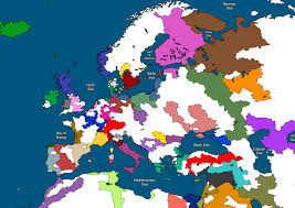 Map Of Southeastern Europe by Map Of Europe In R Wastelandpowers Without Provincial Borders