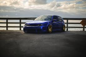 volkswagen golf stance volkswagen golf mk4 blue stance volkswagen golf blue tuning hd