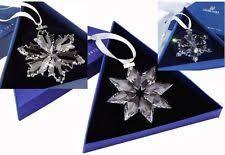 swarovski crystal christmas ornament 2012 ebay