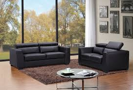 Leather Modern Sofa by Black Leather Modern Sofa By J U0026m Furniture