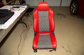 Car Seat Re Upholstery Diy 350z Custom Upholstery Seat Cover Replacement Part 6