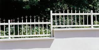 garden fence louvered bar aluminum satellite installux