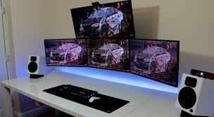 l shaped desk gaming setup desk amazing gaming desk setup l shaped gaming desk interesting