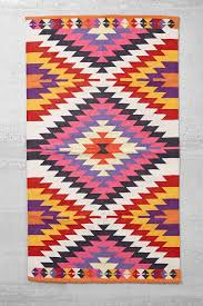 Outdoor Kilim Rug by Magical Thinking Elmas Kilim Woven Rug Urban Outfitters Powder