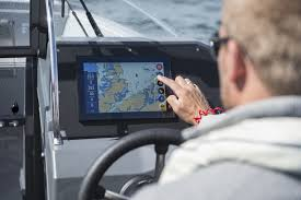 buster boats makes the smart touchscreen a standard feature