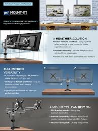 amazon com mount it mi 732 dual monitor office desk stand mount