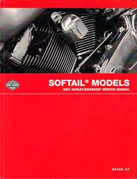 2007 harley davidson softail models factory service manual harley