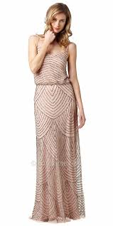 papell dresses papell evening dresses beaded blouson evening dresses