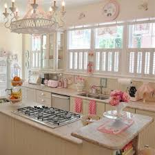 Vintage Kitchen Decorating Ideas The Best Neutral Vintage Kitchen Decor With Pink Accent Ideas