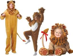 lion halloween costumes for babies kids and adults
