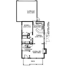 narrow lot home plans bungalow style house plans plan 1 274