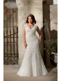 wedding dress for curvy mori 3177 curvy lace wedding dress ivory