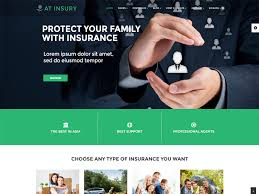 at insury is joomla insurance template tailored for insurance