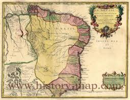 Colonial Map In 1700 U0027s