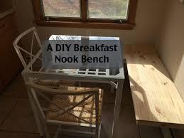 Diy Kitchen Nook Bench Kitchen Face Lift Phase 2 A Diy Breakfast Nook Bench U2013 Hisgirlfriday