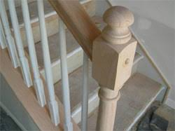 Replace Stair Banister Preparation For Stair Rail Installation
