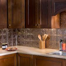 fasade backsplash traditional 1 in bermuda bronze traditional