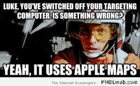 Luke Meme - luke skywalker apple maps meme pmslweb