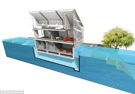 floating houses could hibious homes prove a solution to floods floating houses