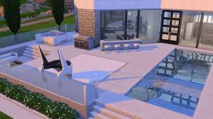Ultra Modern Houses by Mod The Sims Ultra Modern Mansion No Cc