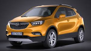 opel suv 2017 rebusmarket high quality 3d models