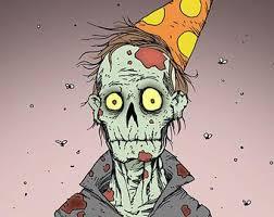 Zombie Birthday Meme - zombie birthday blank template imgflip