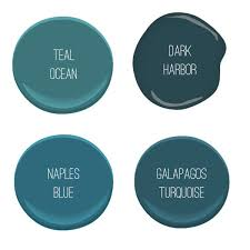 choosing a bedroom paint color benjamin moore teal dark harbor