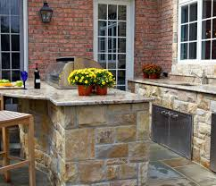 bar awesome outdoor kitchen ideas with boral cultured stone plat