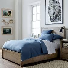 Storage Bed With Headboard Costa Storage Bed Dresser Set Pbteen