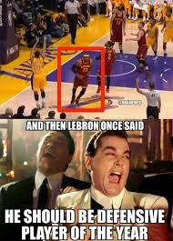 Cavs Memes - lebron james defensive ways cavs http nbafunnymeme com nba