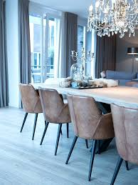 furniture leather dining room chairs uk love the mixed with glam