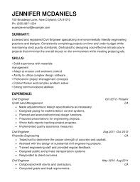 Samples Of Chronological Resumes by Engineering Chronological Resumes Resume Help