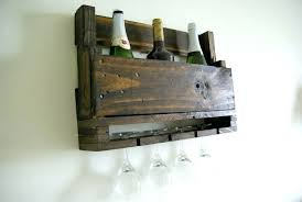 Spice Rack Wall Mount Wood Wine Rack Reclaimed Wood Wall Mounted Wine Rack Solid Wood Wall