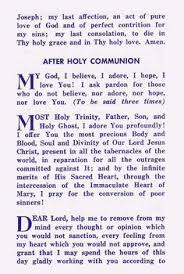 st padre pio s prayer after communion so beautiful but