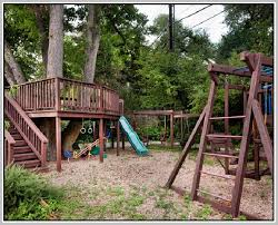 backyard jungle gym home design ideas