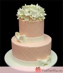 wedding shower cakes simple pink hydrangea bridal shower cake bridal shower cakes