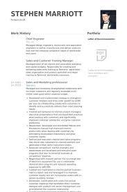 Crew Chief Resume Chief Designer Resume Chief Engineer Resume Samples Visualcv