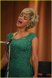 I Rather Go Blind By Beyonce Beyonce Knowles In Blonde Wig Playing Etta James In Cadillac