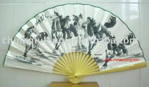 Large Oriental Wall Fans by Wall Ideas Decorative Wall Fans Decorative Wall Mounted Fans