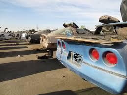 corvette junkyard california junkyard find 1984 chevrolet corvette the about cars