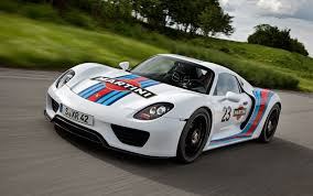 2014 porsche 918 spyder tackles nurbürgring announces martini